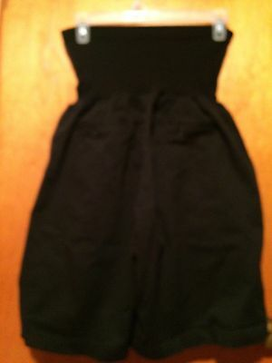 Oh Baby by Motherhood Secret Fit Belly Black Shorts SZ XL