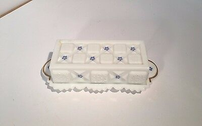 RARE! Wileman and Co. Butter Dish Made in England
