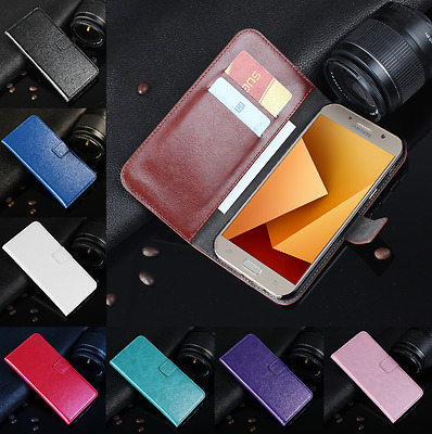 Magnetic PU Leather Wallet Flip Case Cover For Samsung Galaxy A7 2017 A720F