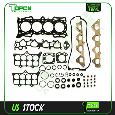 Head Gasket Set For 1991-1996 Honda Accord DX LX EX 2.2L F22A1 16V