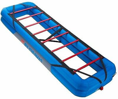 Camping Bed Base Camp Portable Inflatable Sleeping Outdoor Hiking Slatted Single
