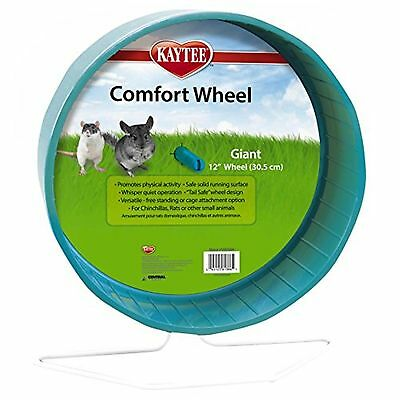 Kaytee Chinchilla Giant Comfort Exercise Wheel, Colors Vary