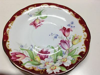 Narcissus Fine Bone Bell China England Tea Cup Saucer