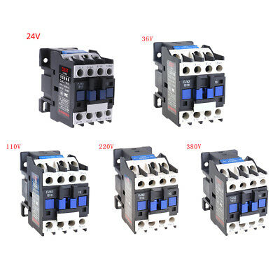 18A Contactor Switches LC1 AC Contactor CJX2-1810 Voltage 380V 220V 110V 36V 24V
