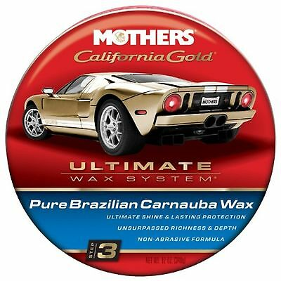 Mothers 35550 California Gold Pure Brazilian Carnauba Wax Paste - Step 3 12-O...