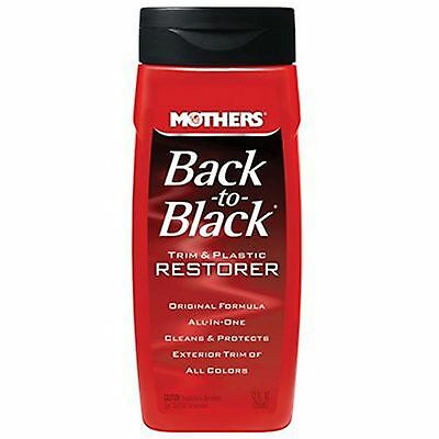 Mothers 06112 Back-to-Black Plastic and Trim Restorer 12-Ounce