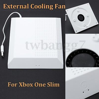 AU External Cooling Fan Cooler Touch Switch USB For Microsoft Xbox One S Slim