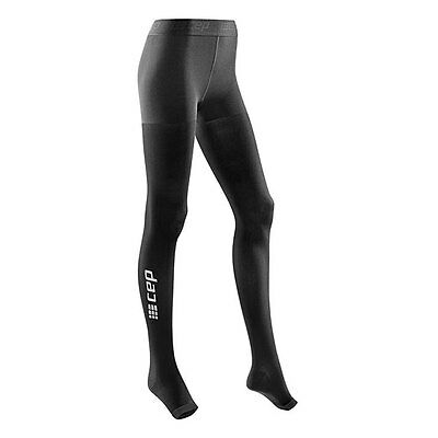 CEP Compression Women's Recovery+ Pro Tights Black I Australain Retailer