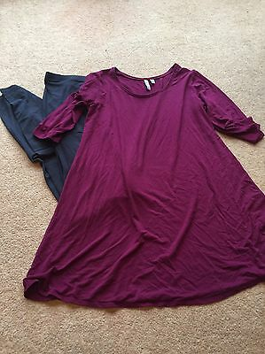 Ladies Maternity Outfit Top And Leggings Small 8 10 Next
