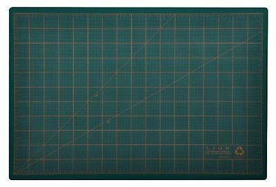 Lion Post Consumer Recycled Cutting Mat, 12 X 18-Inch, Green, 1 Mat (CM-45C)