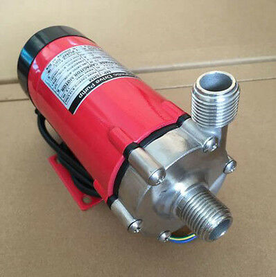 New Food Grade Homebrew Magnetic Drive Pump 15R With 304 Stainless Steel Head