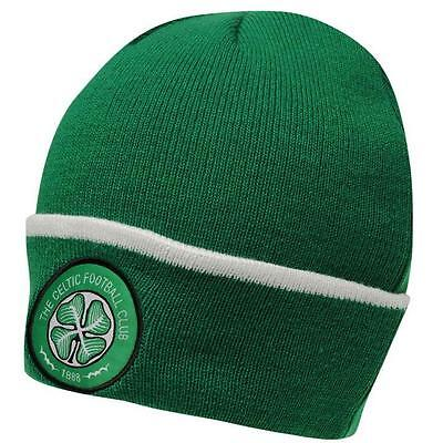 Celtic FC Supporters Football Beanie Support Your Soccer Team Official Merch