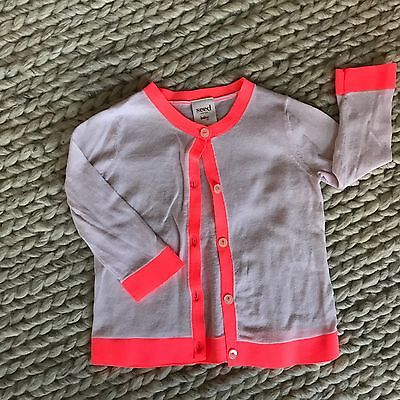 seed heritage Baby Girl Cardigan, Size 3-6 Month