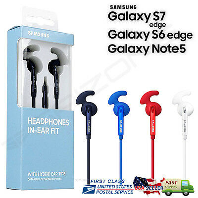 New Original Samsung Galaxy S7 S6 Note 5 Active In-Ear Headphones Headset Earbud