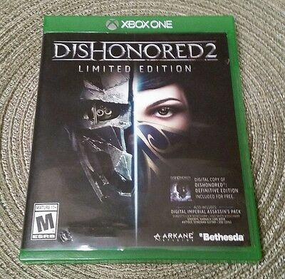 Dishonored 2: Limited Edition (Microsoft Xbox One, 2016)