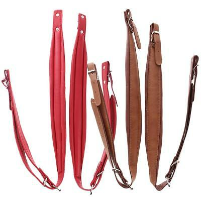 4x PU Leather Accordion Shoulder Strap Musical Instrument Accessories New