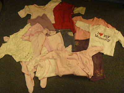 Baby Girl Clothes Bundle, Age 0-3 & 3-6mth