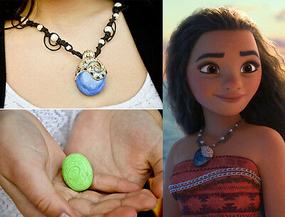 Heart of Te Fiti necklace playing from the animated film Disney MOANA /OCEANIA