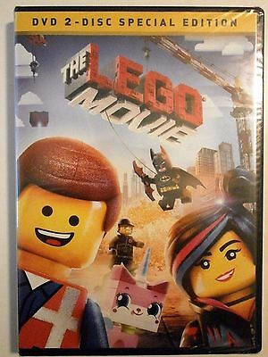THE LEGO MOVIE (2 DVD SET)   New in Shrink