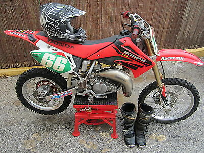 Honda Cr85R Moto De Cross