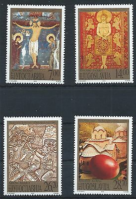 YUGOSLAVIA 2002 SG3335-3338 Easter Set Mint MNH