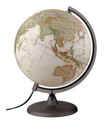 Globe 30cm ILLUMINATED Antique Style NATIONAL GEOGRAPHIC Executive Globe