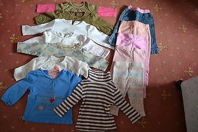 Baby girl tops and bottoms bundle, size 3-6 monts. incl.Next