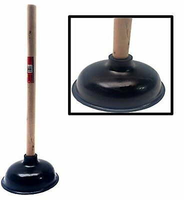 Premium Bathroom Toilet Plunger Suction lets - Large 6.5 for efficient suction!