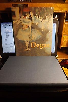 Degas in the Art Institute of Chicago by Richard Brettell DJ Torn but Book A-1