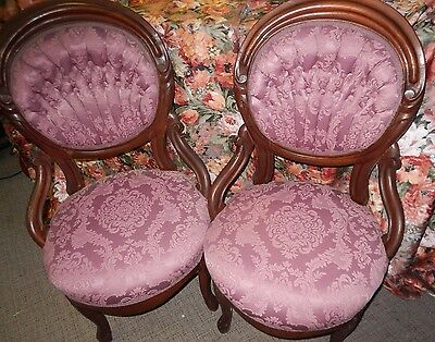 2 Antique/Vintage Chairs, Victorian Style