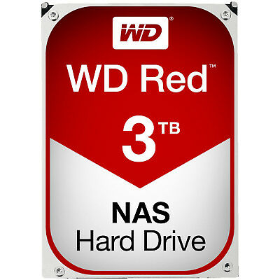 WD Red™ BULK, 3 TB HDD, 3.5 Zoll, intern