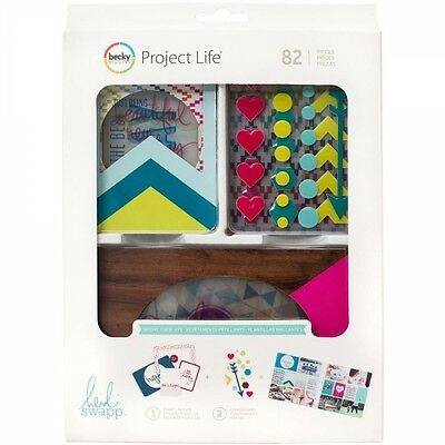 Becky Higgins Project Life Value Kit Bright Overlays (82 Teile)