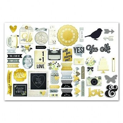 Simple Stories Collection - The Story of us  - Bits & Pieces ( 48 Stück)