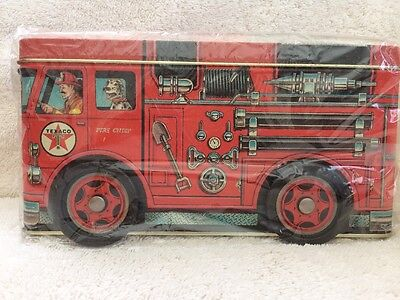 Texaco Fire Truck Tin 1997 By R&B Collectibles And Marketing