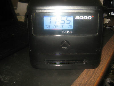 Pyramid 5000 Calculating Time Clock
