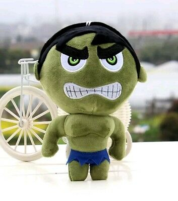 "Incredible Hulk superhero 8"" new soft toy teddy gift boy the Avengers character"