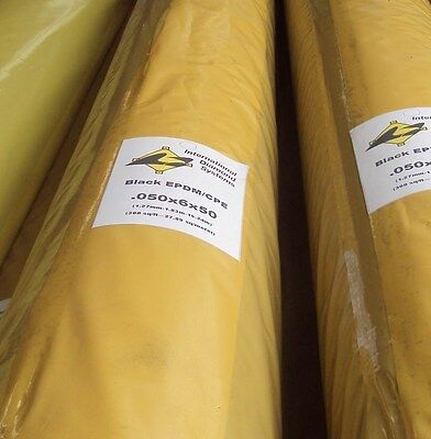 EPDM 12 foot x 25 foot heat weldable EPDM for roofing