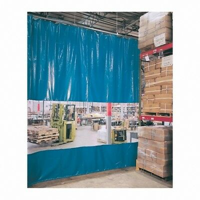 Steiner AWCC8 4'W x 8'H Modular Adjust-A-Wall Kit Curved Section Welding Curtain