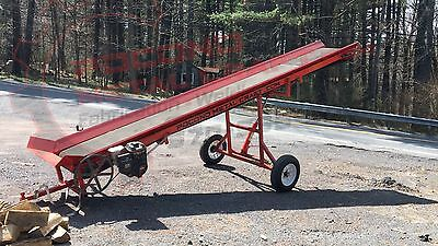 Pocono Metal Craft 20' Firewood Wood Hay Conveyor Elevator CNVYR20
