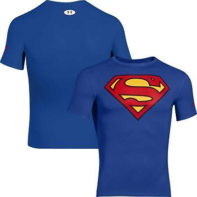Under Armour Mens Heatgear Alter Ego Compression Tee SUPERMAN