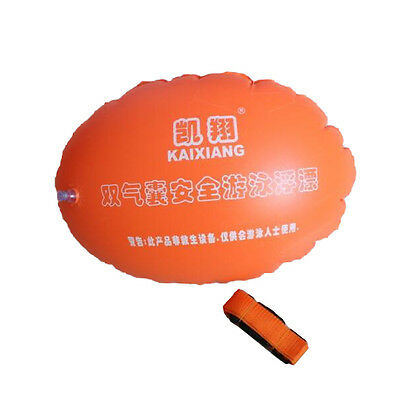 Safety Swimming Inflatable Float Buoy Flotation Ball For Open Water Sea