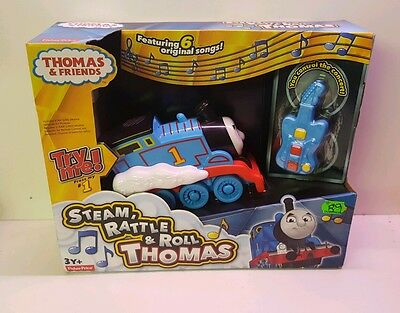 Fisher-Price Thomas the Train Steam Rattle & Roll Thomas - NEW