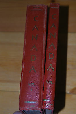 Weeda Boggs Original 1945 Postage Stamps of Canada, 2 volumes, Chambers Pub.