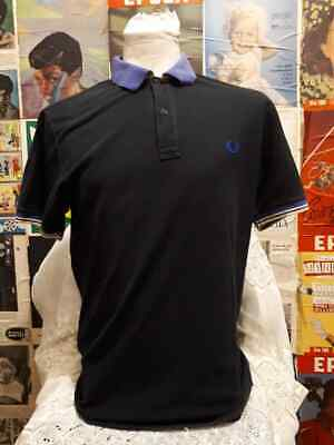 polo FRED PERRY tgl 48  maglia vintage Shirt Jersey Tricot  100% cotone