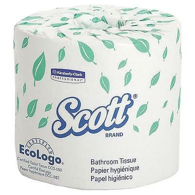 Scott Bulk Toilet Paper (13607), Individually Wrapped Standard Rolls, 2-PLY,...