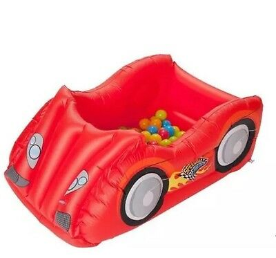 New Chad Valley Kids Race Car Ball Pit & Pool Outdoor Or Outdoor Fun