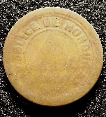 1920 Honduras 2 Centavos (With Dot) - Collectible, Low Mintage Coin KM#71 (#751)