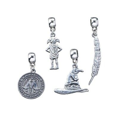 Harry Potter : SLIDER CHARM SET OF 4 new from The Carat Shop