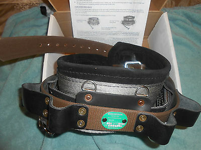 NEW Tree Pole Lineman Climbing Gear Buckingham Body Belt 1994 FRStill in Box
