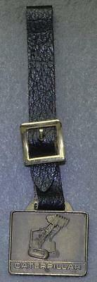 Vintage Caterpillar Fob Watch. Solid Brass. Free Shipping In U.s.a